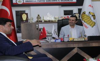 Genel Başkan Yardımcısı Akbulut, Şanlıurfa İl başkanlığını ziyaret etti