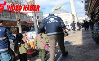 """Büyükşehir Zabıta Ekipleri """"Dilenci Timi"""" Kurdu"""