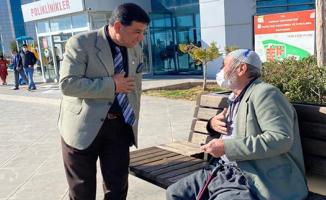 Başkan Aslan'dan Hasta Ziyareti
