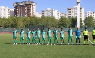 Karaköprü Belediyespor galibiyeti koruyamadı