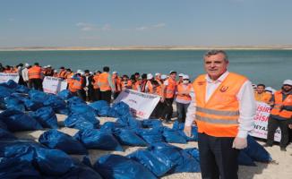 Bin İki Yüz Gönüllü Genç Fırat Havzasında İklim Değişikliğine Dikkat Çekti