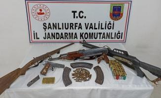 Siverek'te kaçak silah operasyonu