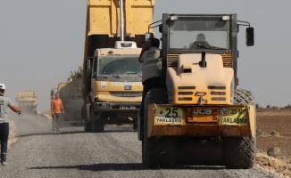 Viranşehir Kırsal yolları sathi asfaltla buluştu
