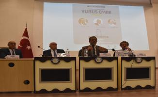 Yunus Emre Anadolu Konferansları  Dizisinin Şanlıurfa Etkinliği,HRÜ'nin Ev Sahipliğinde Gerçekleştirildi
