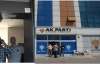 AK parti il binasında yoğun güvenlik önlemi