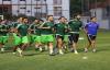 Karşıyaka maç hazırlıkları devam ediyor