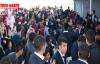 Öğrenciler okul açılışında kavga etti