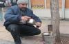Sokakta doğal çay