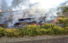 Urfa kalesinde yangın paniği