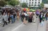 Urfa'da Kobani yürüyüşü