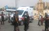 Urfa'da Yunus polisler kaza yaptı 2 yaralı