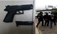 Urfa'daki o saldırganlar suç aletiyle yakalandılar