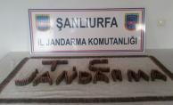 Urfa'da bir araçta 1 bin 90 adet mermi ele geçirildi