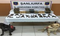 Urfa'da Kaçak Silah Operasyonu