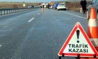 Birecik'te trafik kazası, 1 ölü, 3 yaralı