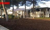 Eğitim merkezindeki yangın korkuttu