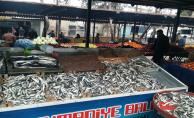 Semt pazarlarında balık tezgahları kuruldu