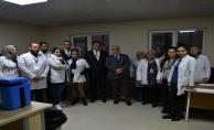 Vali Tuna Göçmen Sağlığı Eğitim Merkezini Ziyaret Etti