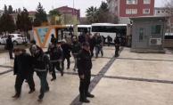 Urfa'da adliye sevk edilen 19 kişi tutuklandı