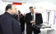 Urfa'da gezici mobil kanser tarama aracı hizmete başladı