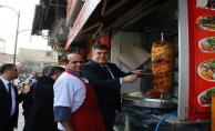 Urfa Emniyet müdürü Tipioğlu'dan esnaf ziyareti