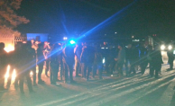 Urfa'da elektrik kesinti eylemi