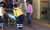 Urfa'da küçük çocuk ikinci kattan düştü