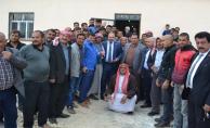 AK Vekil Özcan 18 köyden daha destek aldı