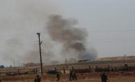 Akçakale Suriye sınırda top atışları başladı