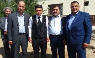 Başkan Yavuz Şehidin kardeşine ve Gazinin düğününe katıldı