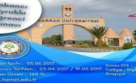 Harran Üniversitesi YÖS Sınav Başvurusu