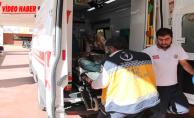 Karaköprü'de inşaat işçisi düşerek yaralandı