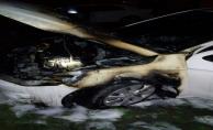 Urfa'da 5 araç ateşe verildi