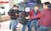 Urfa'da öldürülen  iki kardeşin şüphelileri adliye'de