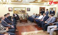 Başkanlar Şanlıurfa'da