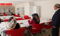 Demirkol, Haliliye Belediyesi Ders Çalışma Salonlarını Ziyaret Etti