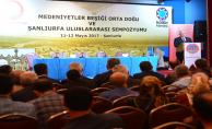 Medeniyetler Beşiği Ortadoğu Ve Şanlıurfa Uluslararası Sempozyumu Başladı