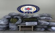 Şanlıurfa'da 143 Kilo Esrar ele geçirildi, 3 tutuklama