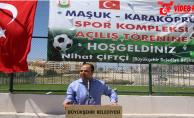 Seyrantepe Spor Kompleksi Açıldı
