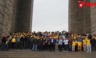 Urfalı Gençler, Çanakkale Şehitliğinde Yemin Etti