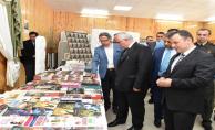Vali Tuna, Kitap Fuarının Açılışını Yaptı