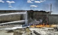 Kaçak Akaryakıt Deposunda Yangın
