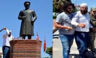 Atatürk Heykeline Saldırın Zanlı Tutuklandı!
