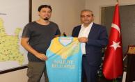 Basketbol Ve Voleybol Antrenörlerinden Başkan Demirkol'a Ziyaret