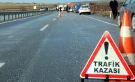 Otobüs Kazası! Yolcular Araç İçinde Sıkıştı