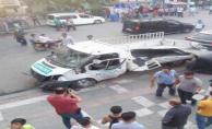 Urfa'da trafik kazası, 3 yaralı