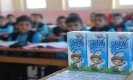 32 bin okulda 6 milyon öğrenciye 60 bin ton okul sütü dağıtılacak