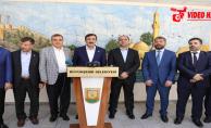 Genel Başkan Yardımcısı Yılmaz Büyükşehir Belediyesini Ziyaret Etti