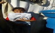 Kaymakam Sinanoğlu'ndan Suriyeli 14 Bin Çocuğa Kıyafet Yardımı