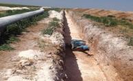 Mardin-Ceylanpınar Ovaları Cazibe Sulaması Ekonomiye Milyonlarca Lira Katkı Sağlayacak.